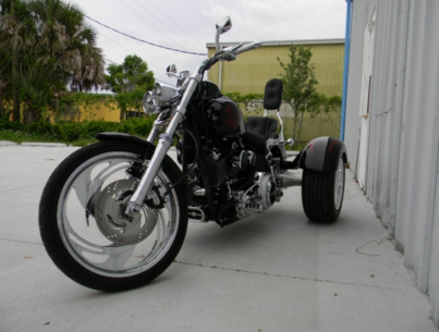 Harley Davidson Softail Trike Conversion | Frankenstein